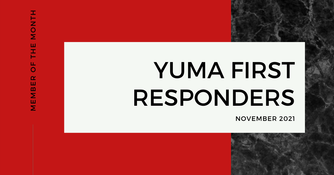 November Business of the Month: Our First Responders