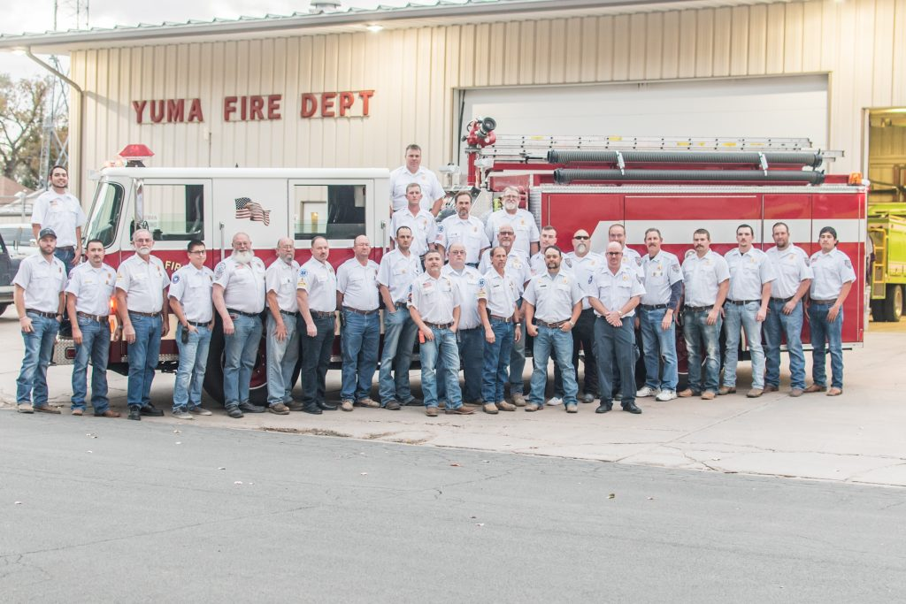 YVFD 810 group pic 2019 1024x683 - November Business of the Month: Our First Responders