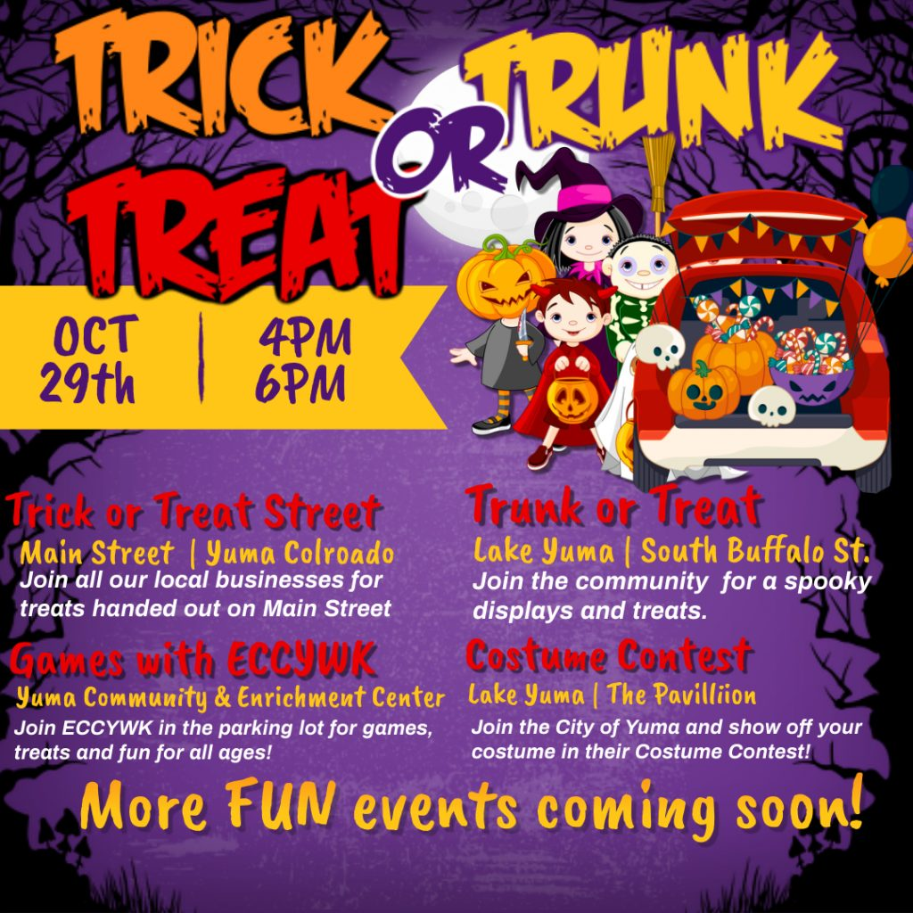 Copy of Copy of Copy of halloween drive thru trick or treat Made with PosterMyWall 1024x1024 - Trick, Trunk or Treat!